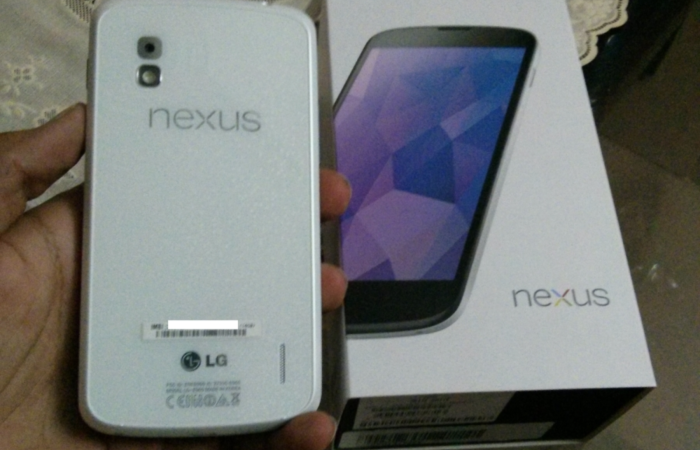 Nexus 4 White Edition now Available in India