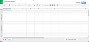 Google Docs Spreadsheet