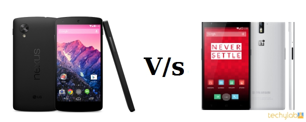 Nexus 5 vs 1plus1