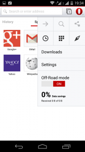save data on Opera for Android (2)